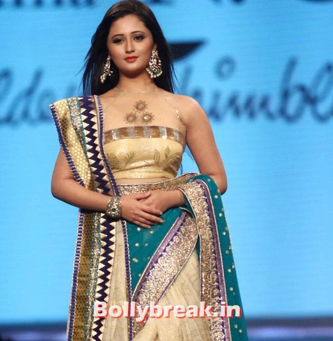 Rashmi Desai, TV Hotties Rashmi Desai, Sakshi Tanwar at Cancer Fundraiser Fashion Show