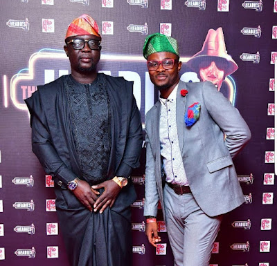 Photos of celebrities at the  2018 Headies awards