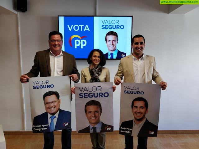 El PP palmero da el pistoletazo de salida a la campaña electoral