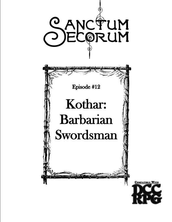kothar barbarian swordsman