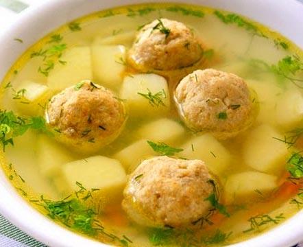 суп с фрикадельками рецепт пошагово с фото с рисом