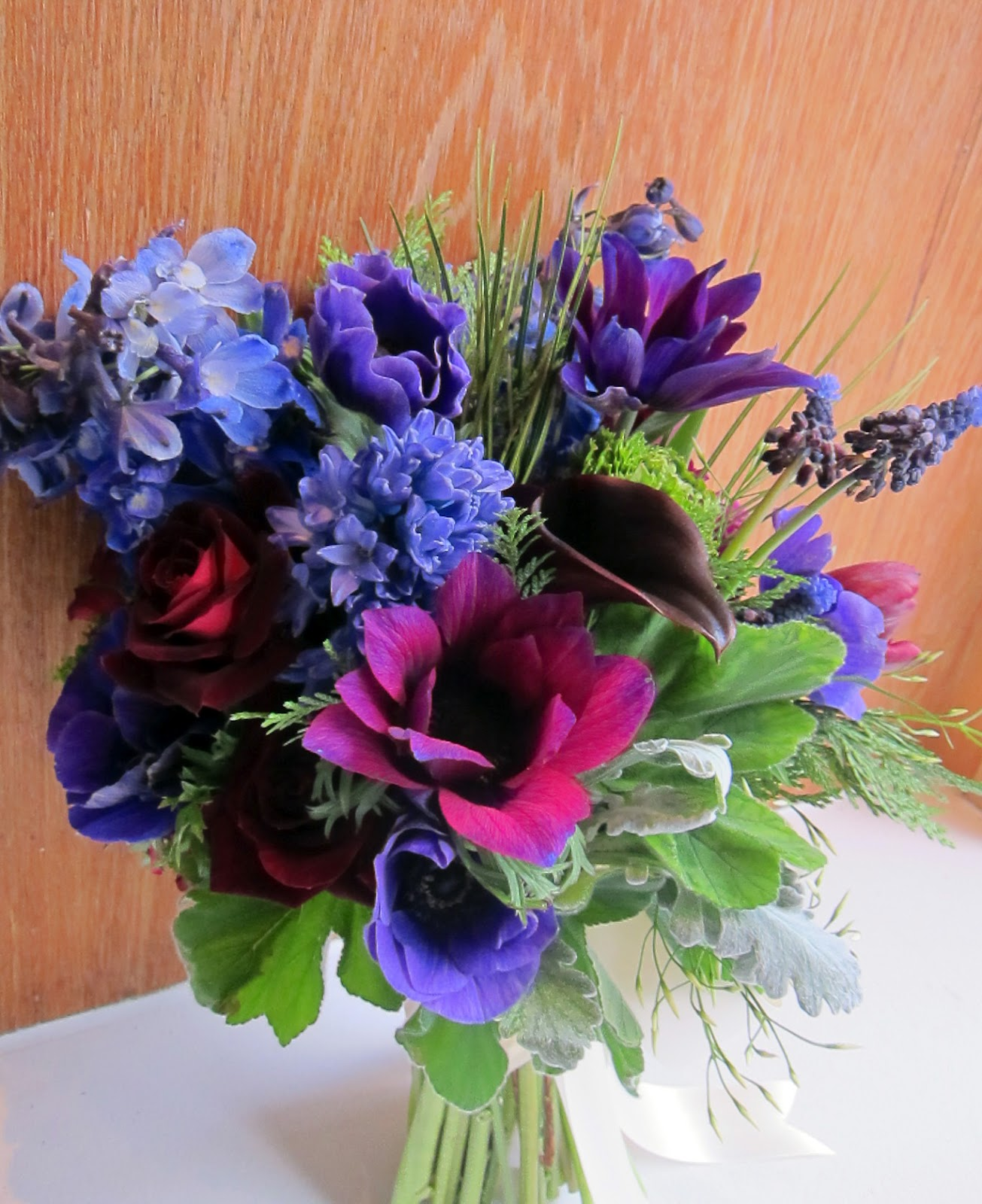 Jewel Tone Wedding Flowers: Little Pheasant: February 2012