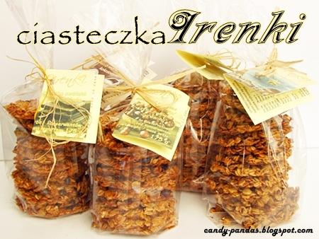 Ciasteczka owsiane - Irenki