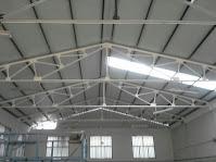 montaje de grandes cubiertas en la Comunidad de Madrid