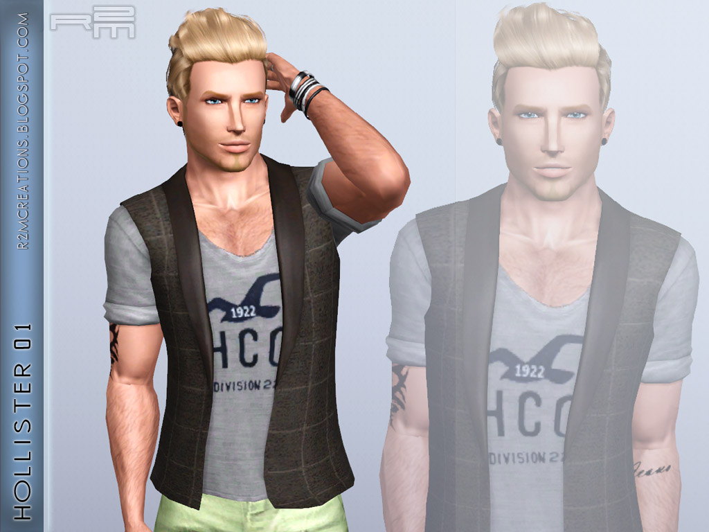 Hollister For Male Sims