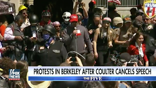 Berkeley Protests: Hundreds Rally After Coulter Talk Canceled, At Least 6 Arrested | Fox News