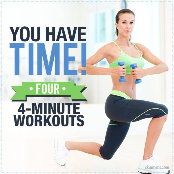 Get Fit with Four – 4 Minute Workouts
