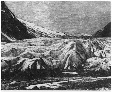 Glaciar Nigardsbreen en 1864