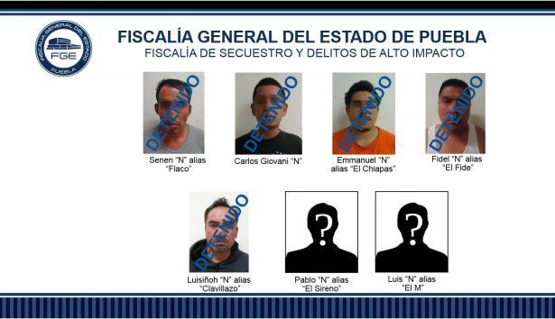 """Banda de """"El Güero"""" responsables de homicidio y violación"""