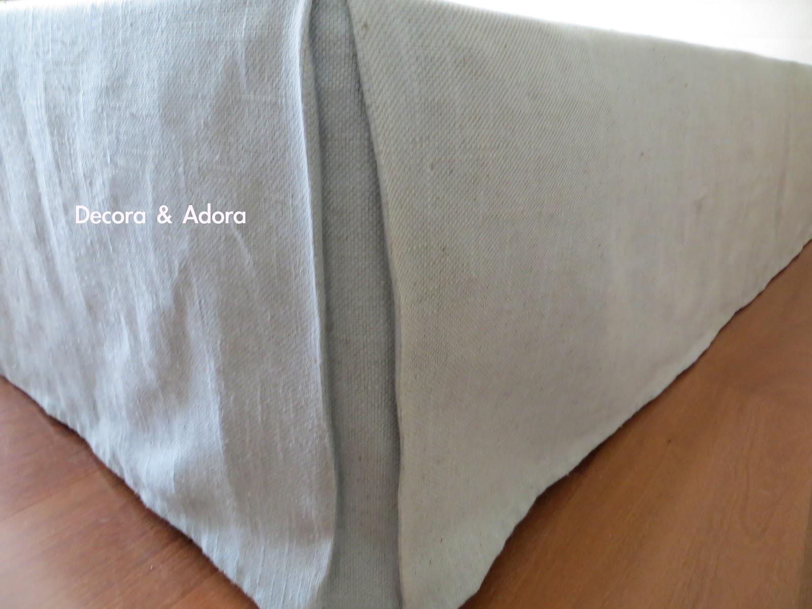 Decora Y Adora Diy Fald 243 N De Mi Cama Diy My Bed Skirt