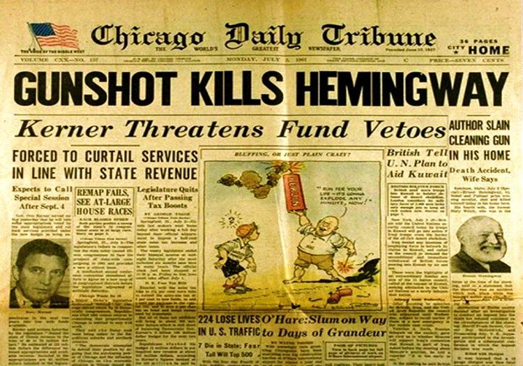 Dönemin popüler gazetesi Chicago Daily Tribune olayı manşetine taşımıştı.