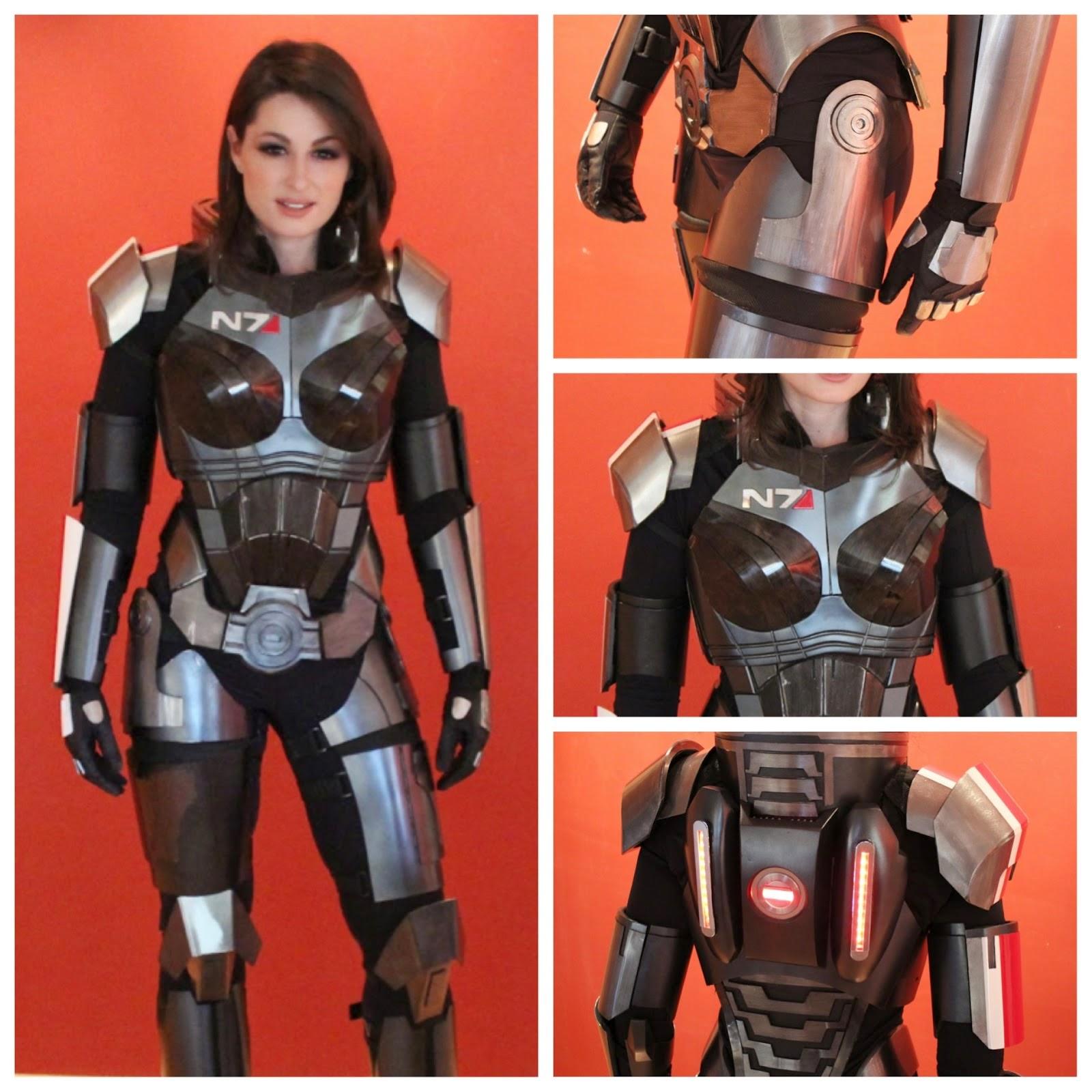 Mass Effect Commander Shepard Cosplay