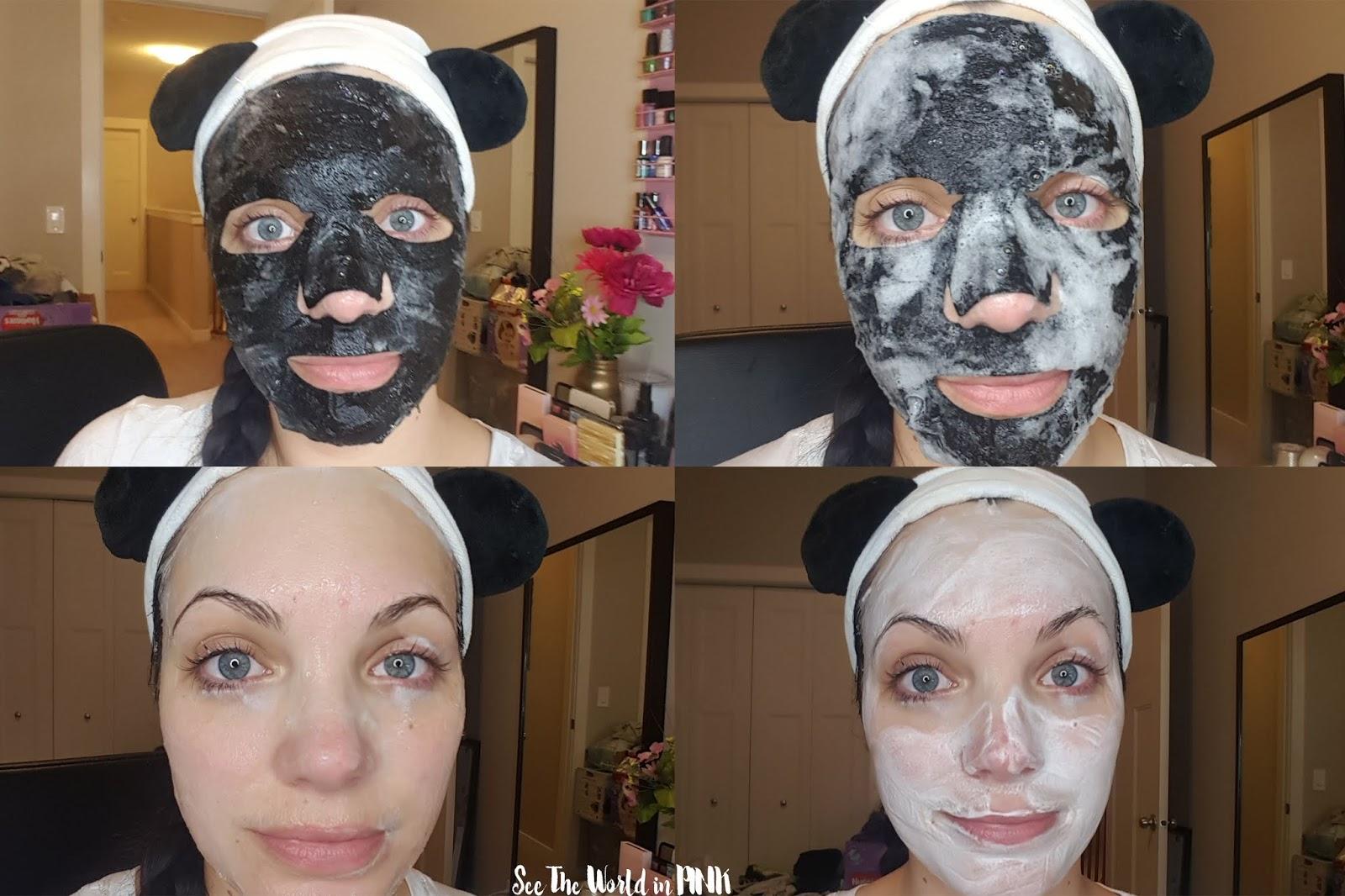Skincare Sunday - GlamGlow BubbleSheet Oxygenated Deep Cleanse Mask