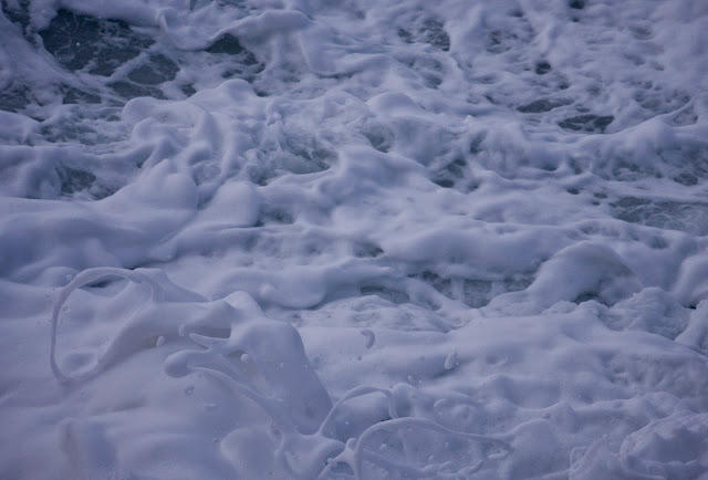 Sea, Whitewater, frothing