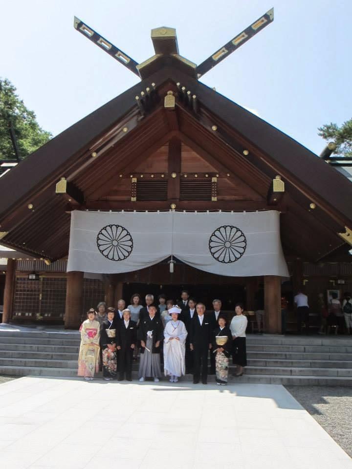 Hokkaido Jingu Shrine Wedding