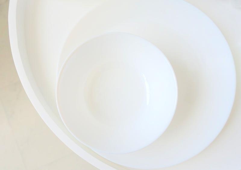 IKEA OFTAST bowl flat plate