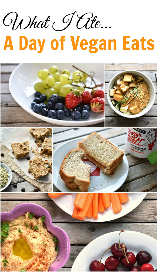 What I Ate...a day of simple, healthy vegan eats for summer!