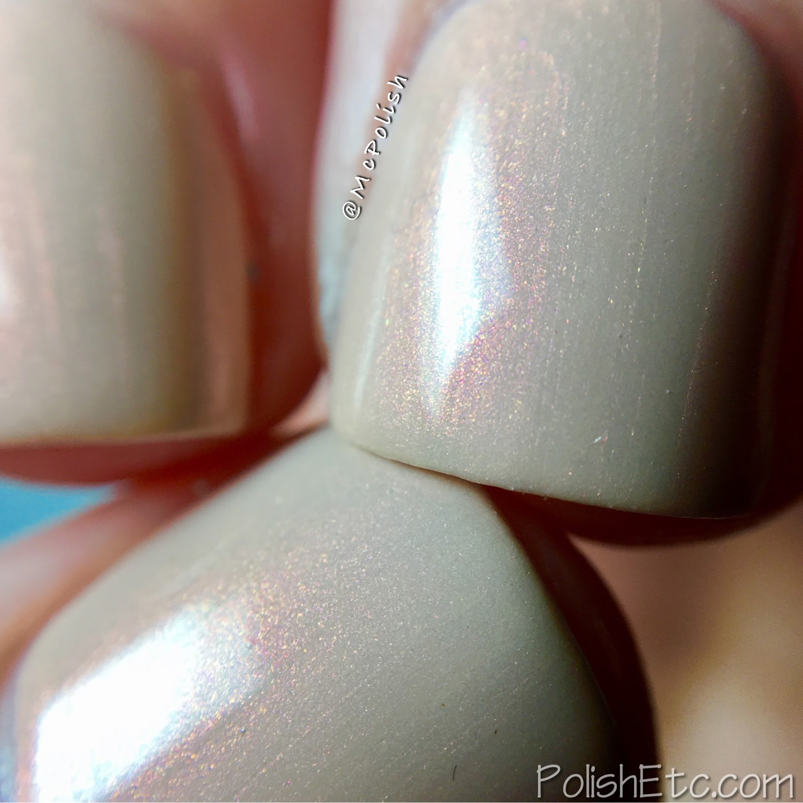KBshimmer - Nauti by Nature Collection - McPolish - Saved by the Shell