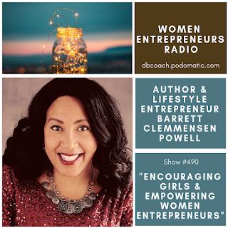 Author & Lifestyle Entrepreneur Barrett Clemmensen Powell on Women Entrepreneurs Radio