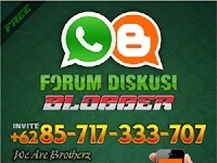Group WA Forum Diskusi Blogger