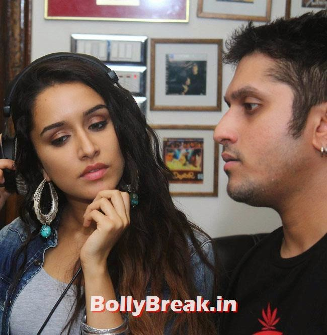 Shradha Kapoor and Mohit Suri, Shraddha Kapoor Records Background Score of Ek Villain