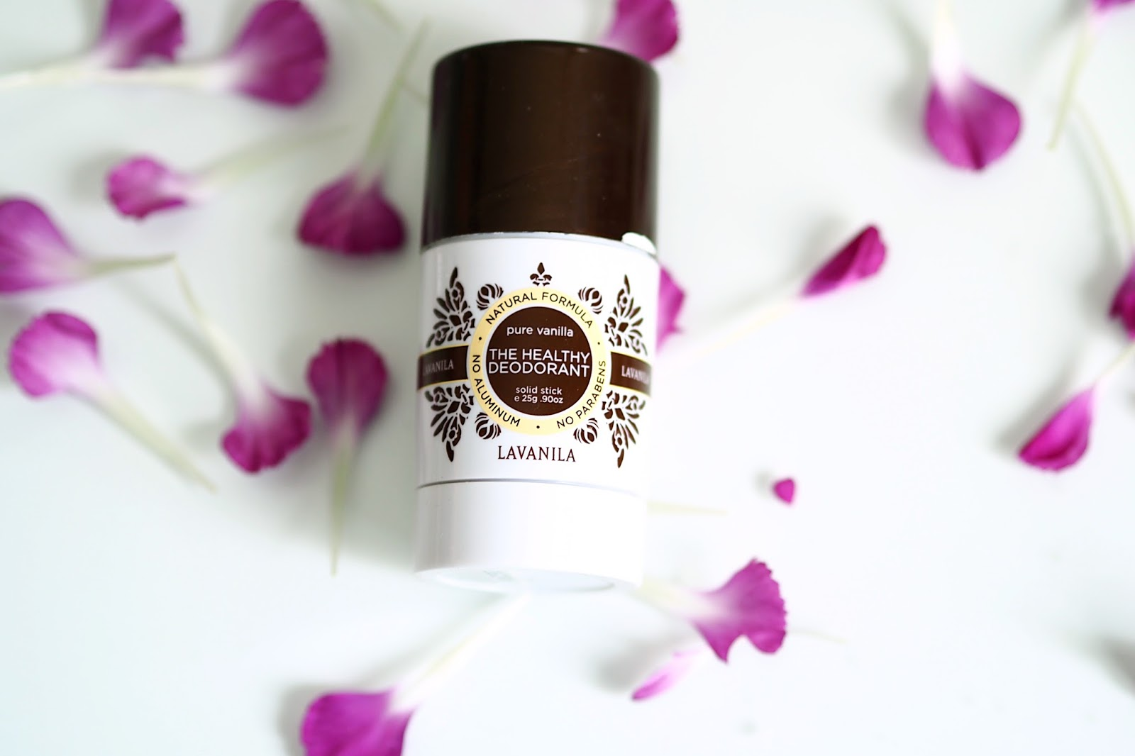 The healthy deodorant pure vanilla Lavanila
