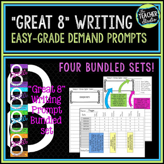 Third grade writing, fourth grade writing, fifth grade writing, writing assessment, writing prompts, writing activities, writing lessons, teaching writing, opinion writing, informational writing