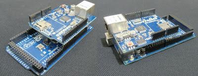 Arduino Ethernet Shield - Placas