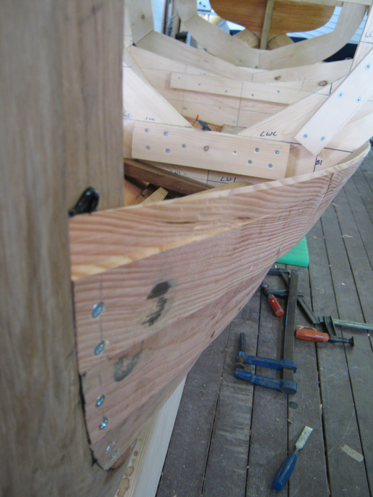 Pictures Of Clinker Brick And Lava Rock Houses: Traditional Boatbuilding Skills: Rebates And Brows In
