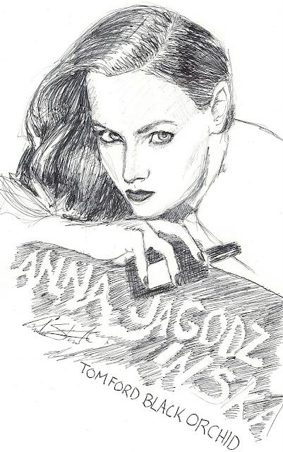 reub-envision: Anna Jagodzinska sketchbook series
