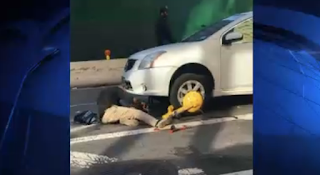 Man Fleeing Police Near Penn Station Attacks Cop With Cleaver, Gashing Him in Face