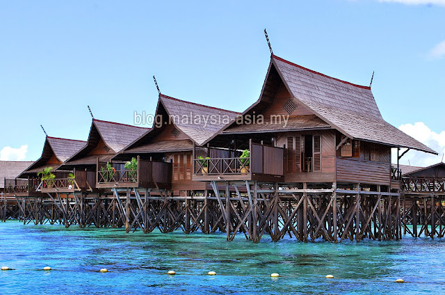 Water Bungalows Kapalai Island