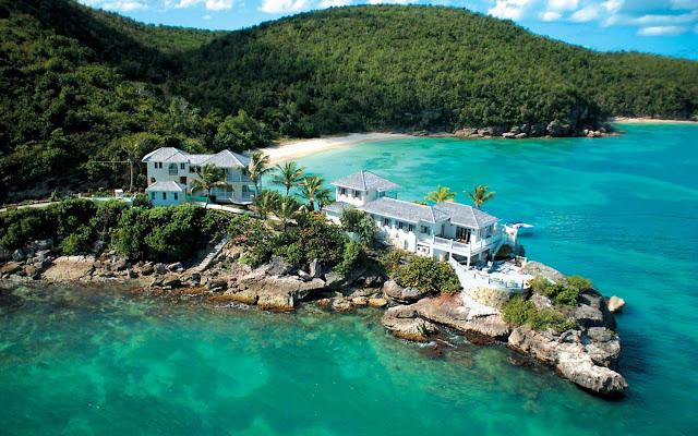 Villa à proximité de la plage d'Antigua