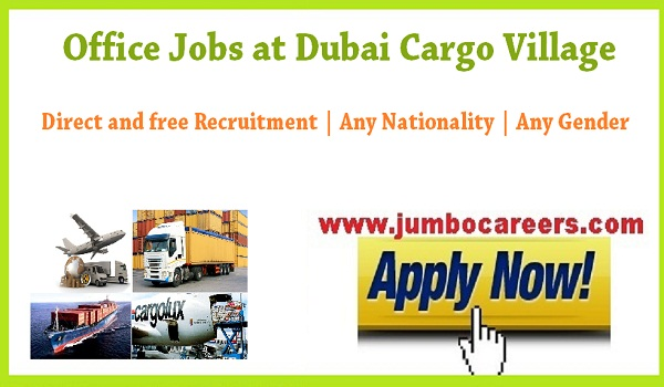 latest Dubai office jobs for Indians, direct free recruitment jobs in Dubai,