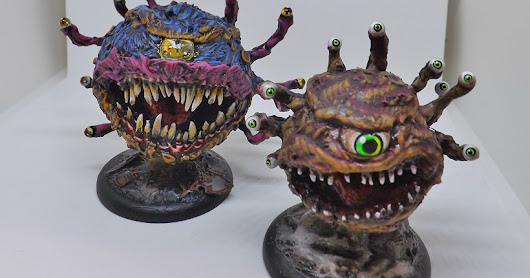 How to make a glue gun beholder