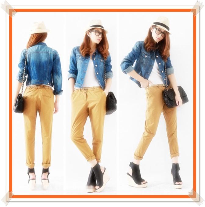 model model jaket wanita