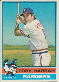 1976 Topps, Toby Harrah