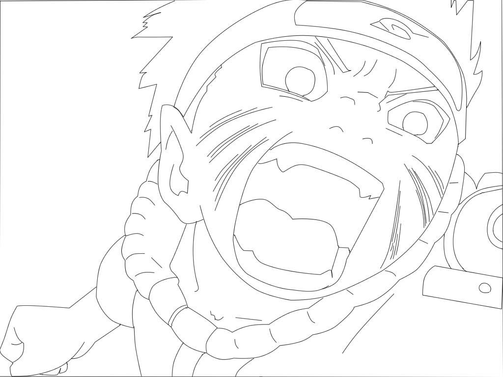 Imagens Para Colorir De Naruto: Desenhos Naruto Para Colorir