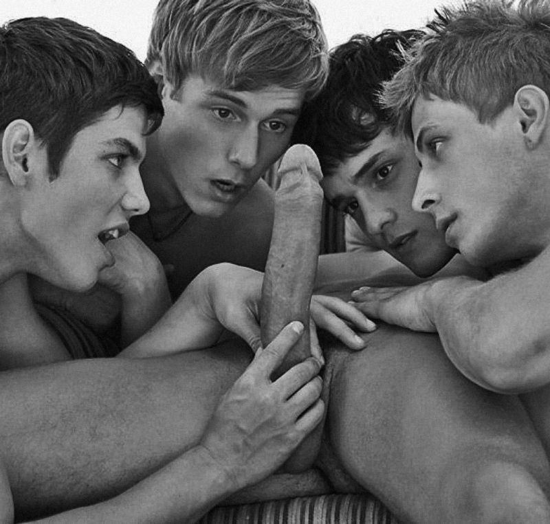 Гей Порно Подростки Группа