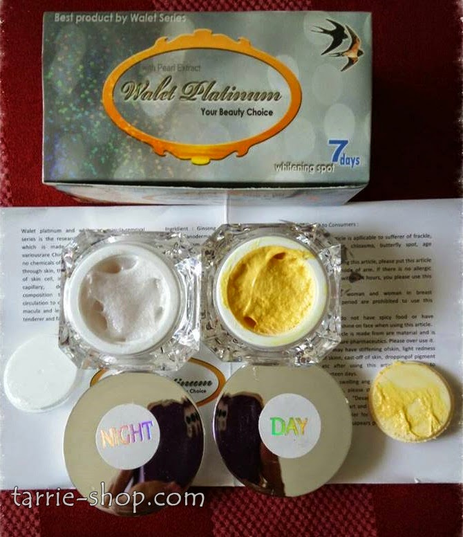 Cream Walet Platinum Whitening