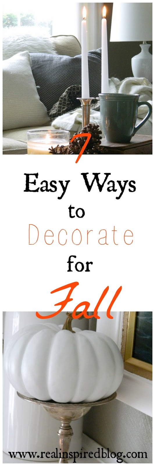 7 Easy Ways to Decorate for Fall