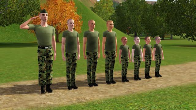 My Sims 3 Blog Military School Poses By Nastya Timka