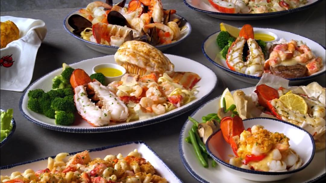 Red Lobster Menu with Prices