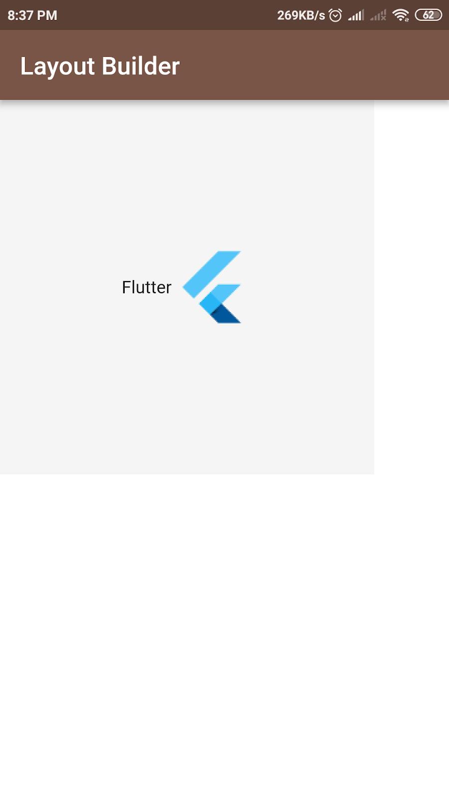 Flutter - LayoutBuilder, create responsive design