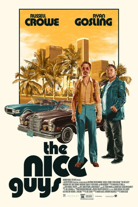 The Nice Guys Ruan Gosling, Russel crowe