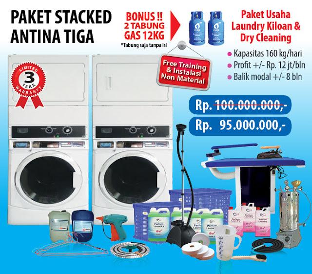 3-PAKET-ANTINA-3 Paket Usaha Laundry kredit Tanpa survey