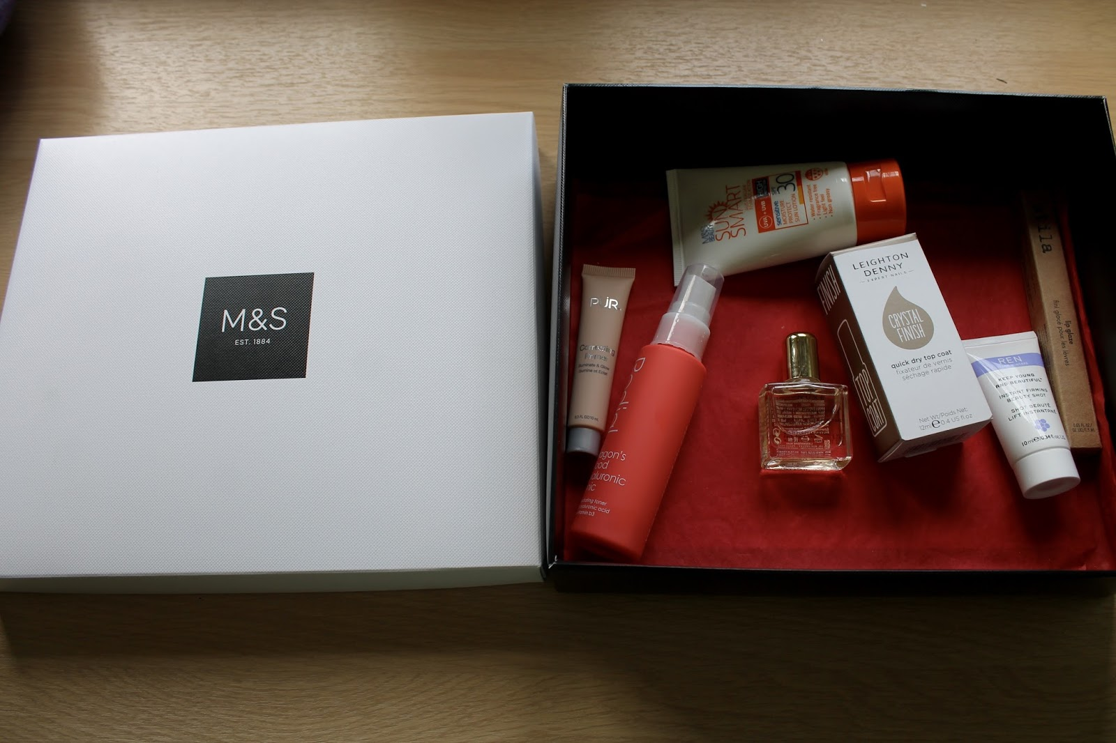 M&S Beauty Box First Look