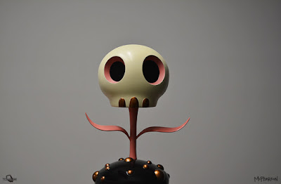The Skull Flower Designer Art Figure by Tara McPherson x ToyQube