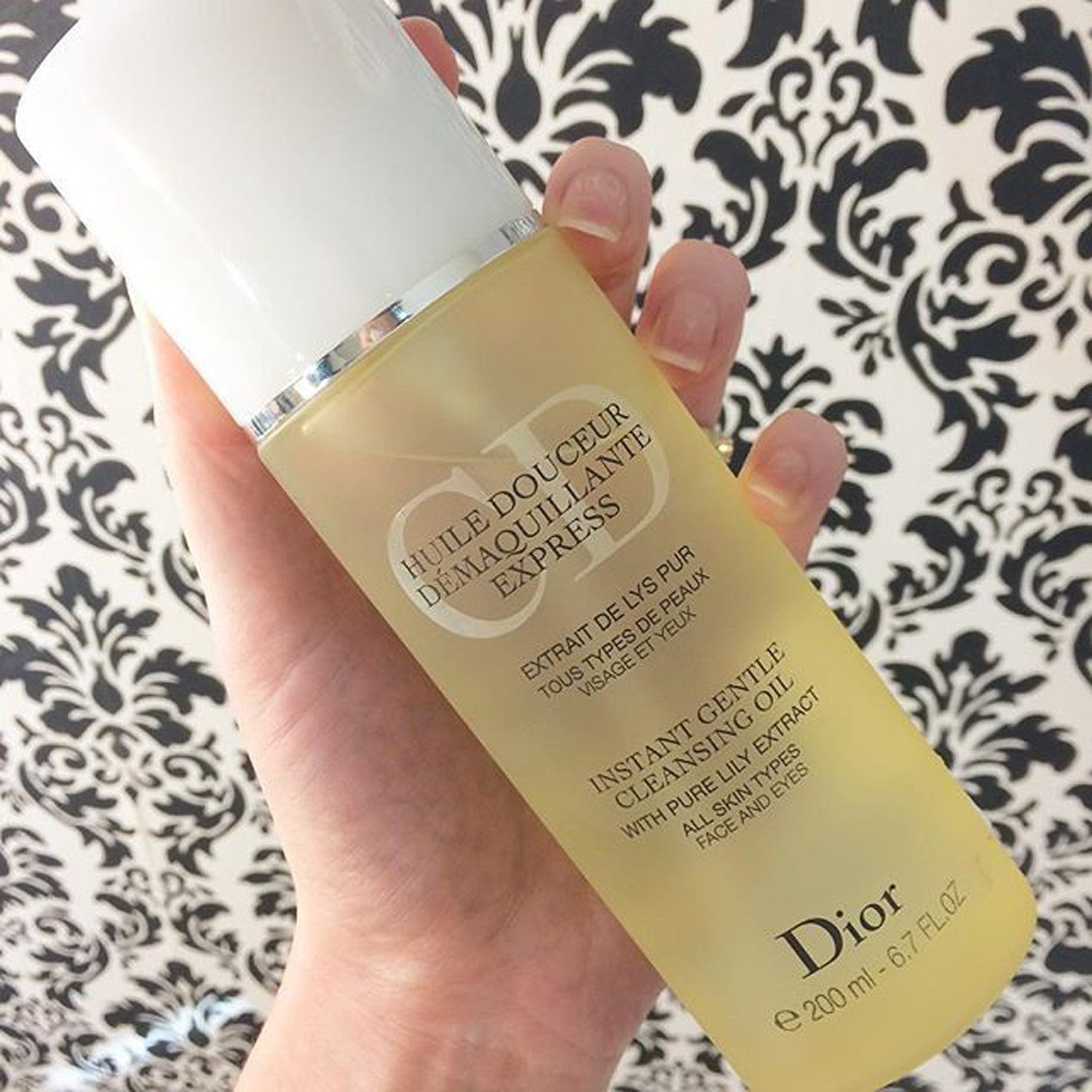 Óleo demaquilante Dior Instant Gentle Cleansing Oil