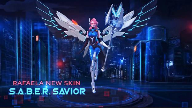 Script Skin Rafaela EPIC Saber Savior ML